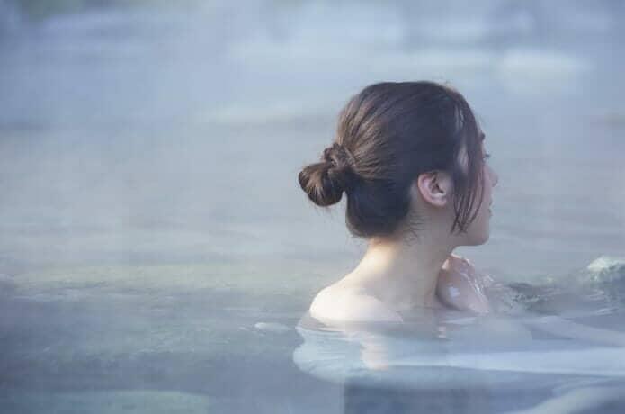 温泉の画像