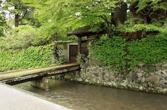 白石市内の水路