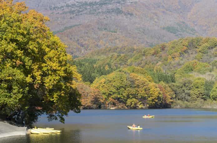 長老湖 釣り