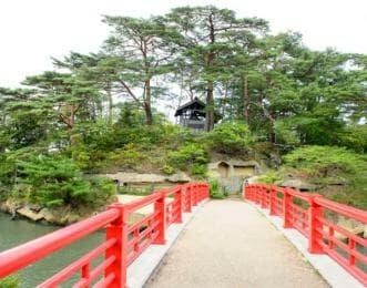 松島 朱色の橋