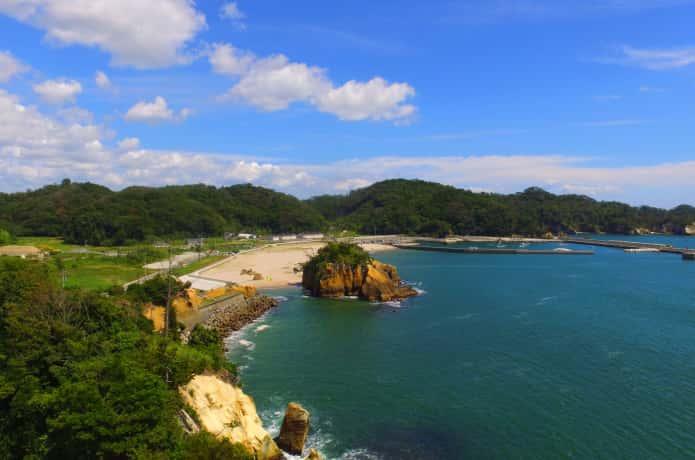 宮戸島のビーチ