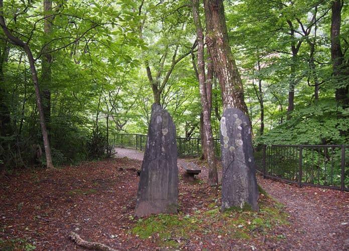 鳳鳴四十八滝 石碑