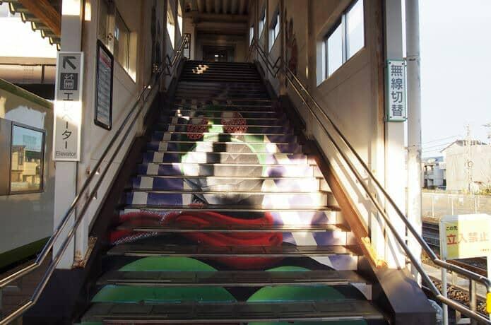 石巻駅 階段