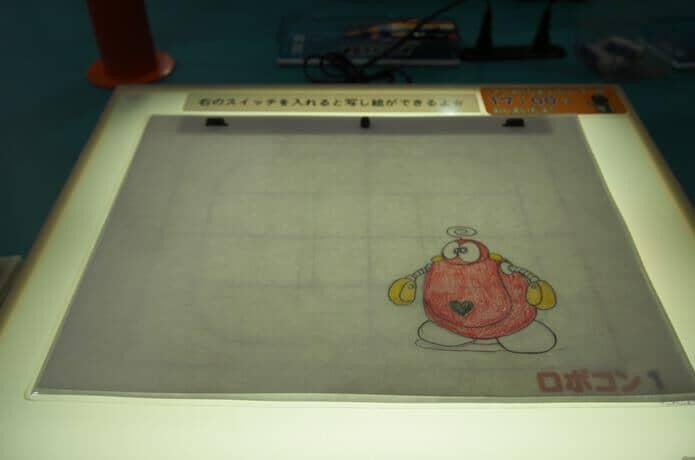 石ノ森萬画館 ロボコン アニメーション