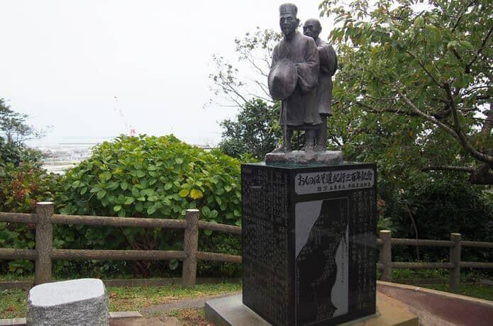 日和山公園 松尾芭蕉
