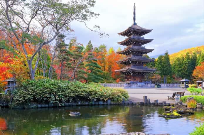紅葉する定義 西方寺