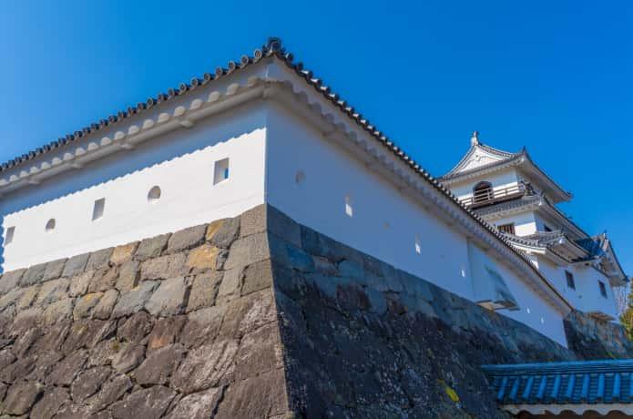 白石城 外壁の石垣