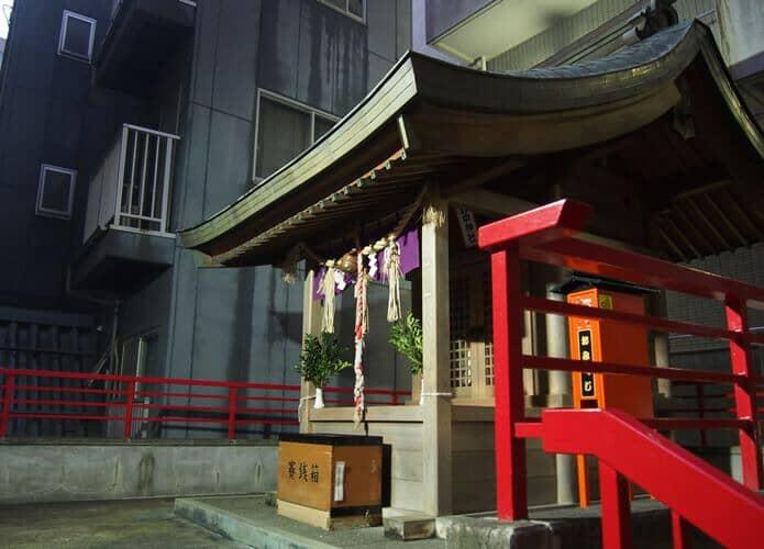 野中神社 社殿