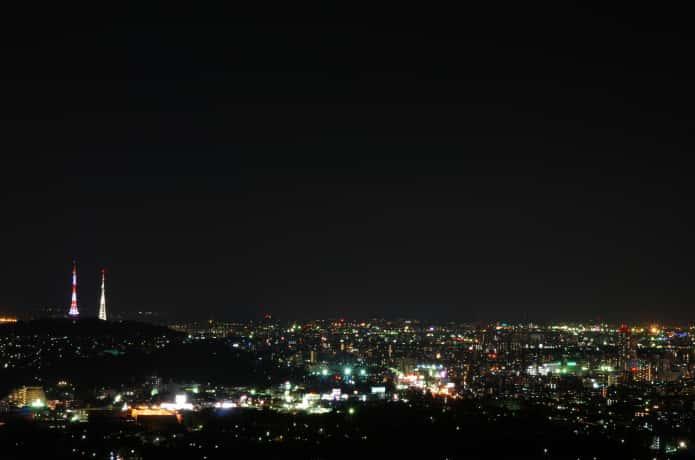 大寺山 テレビ塔