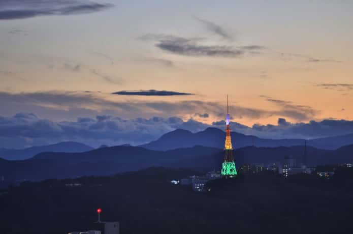 八木山 TBC東北放送テレビ塔