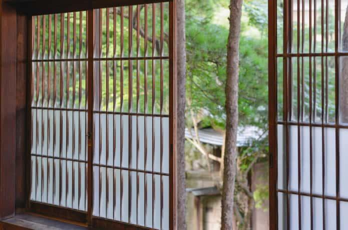 旧亀井邸の窓