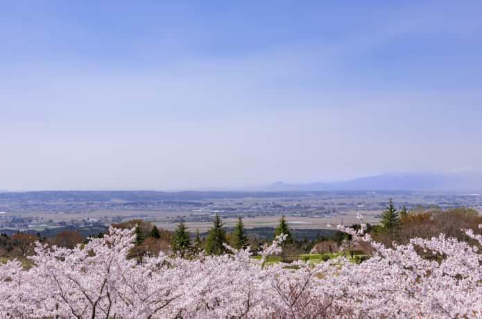 加護坊山からの眺め