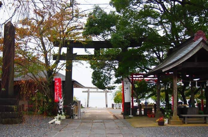 石巻 鹿島御児神社