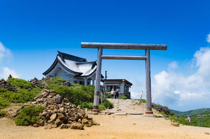 刈田山山頂