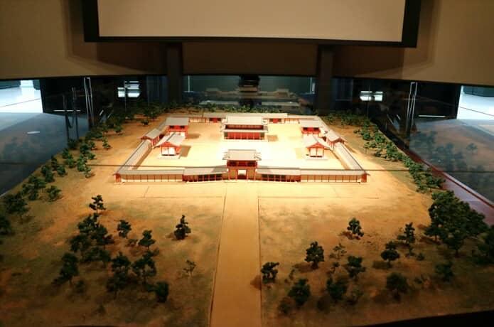 多賀城 復元模型