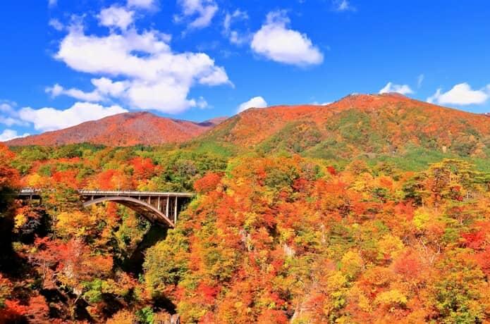 秋の鳴子峡