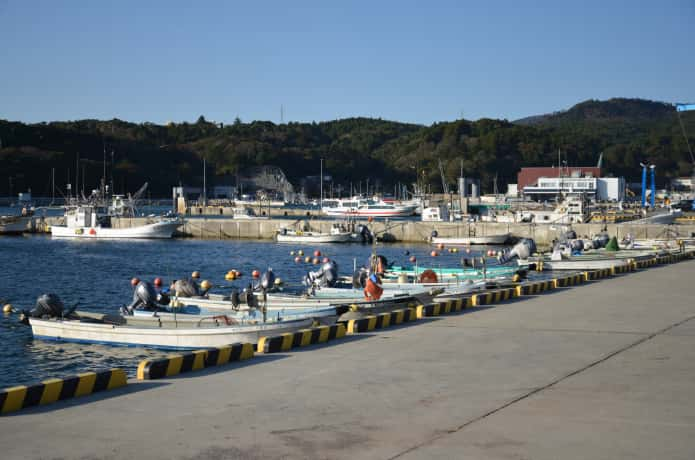 石巻市 鮎川漁港