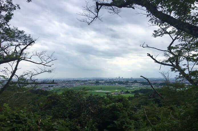岩切城からみる景色