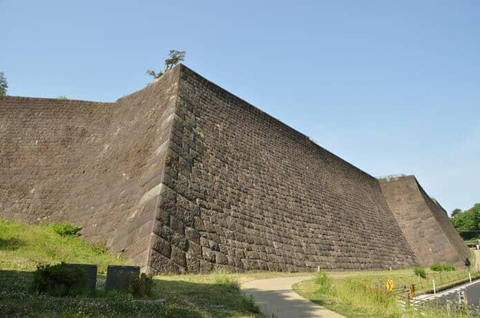 仙台城 石垣