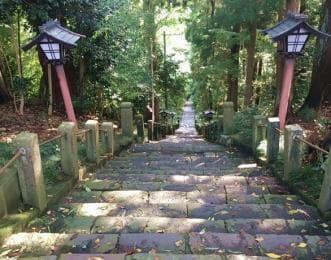 大満寺 石段