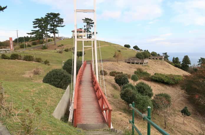 おしか御番所公園 吊り橋