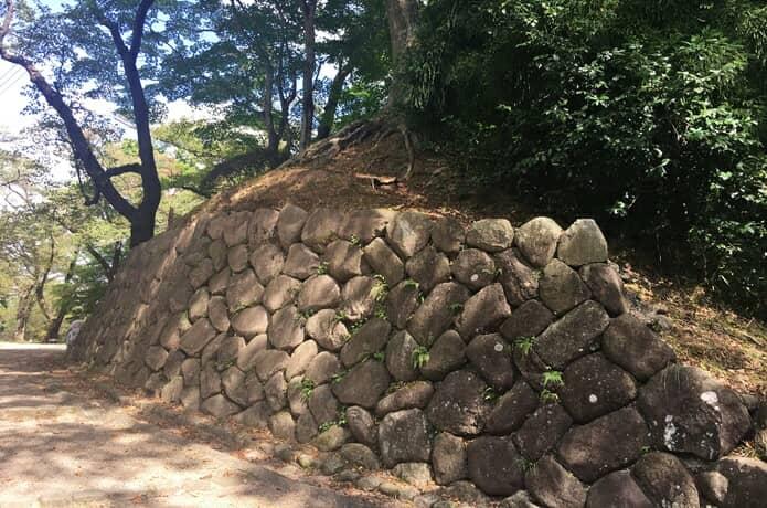 岩出山城 石垣
