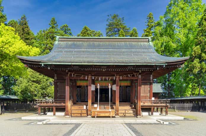 上杉神社 社殿