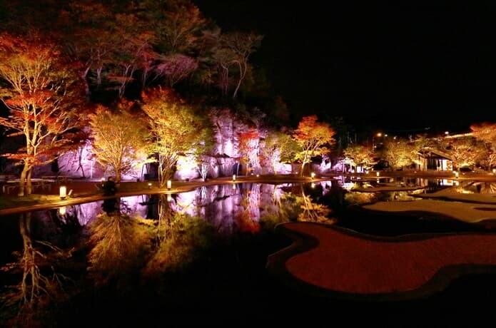 松島離宮 庭園 ライトアップ