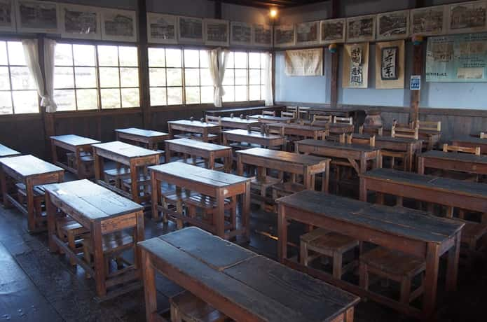 教育史料館 教室