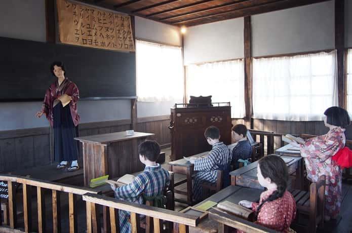 教育史料館 再現教室