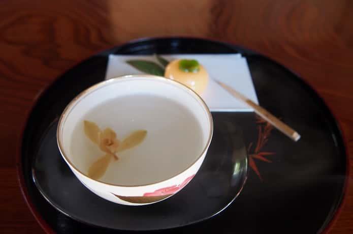 春蘭亭 お茶