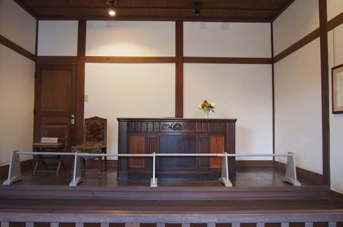 水沢県庁記念館 復元された裁判所