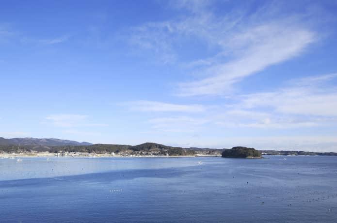 南三陸町と志津川湾