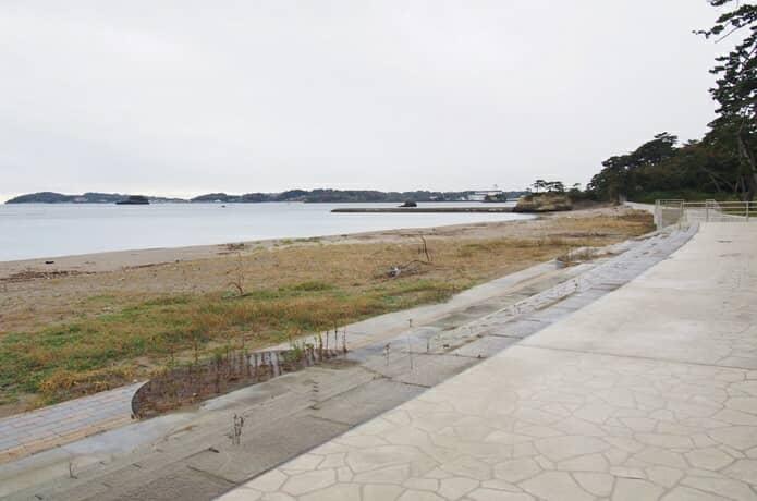 桂島海水浴場 海