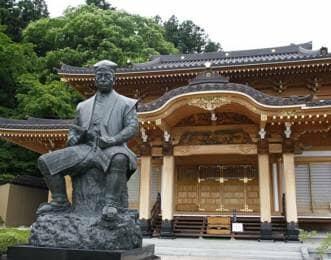 片倉小十郎の銅像