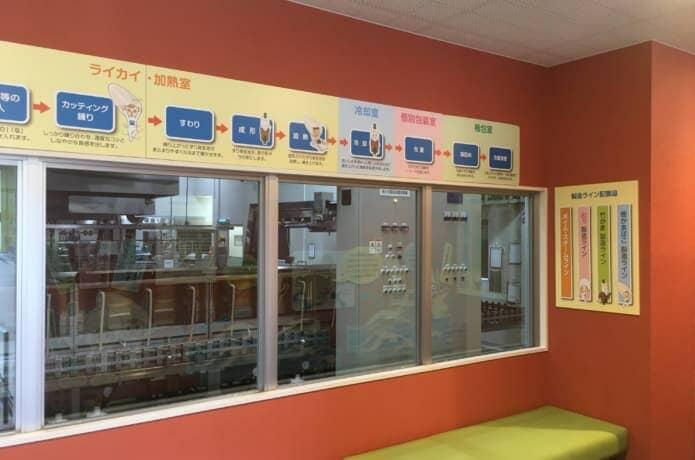松島蒲鉾店 作業工程パネル