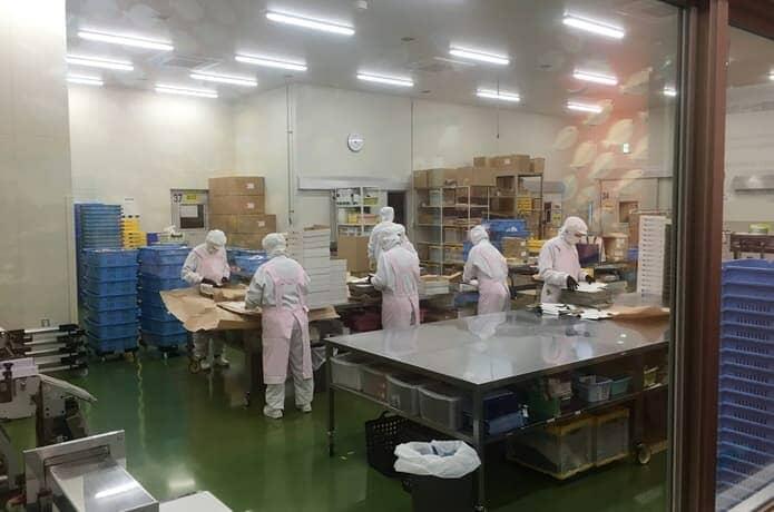 松島蒲鉾店 工場