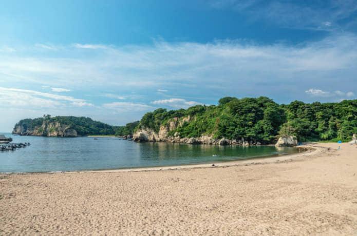 奥松島 月浜海水浴場