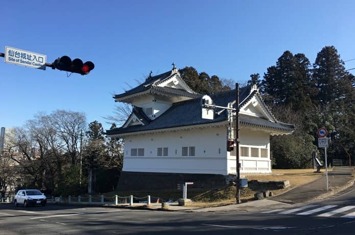 仙台城 大手門脇櫓