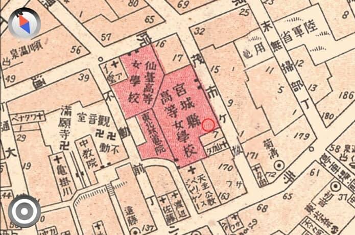 茂市ヶ坂 大正時代 地図