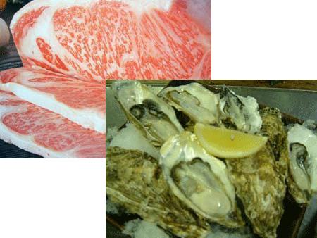 松島プチホテルビストロアバロン 食材