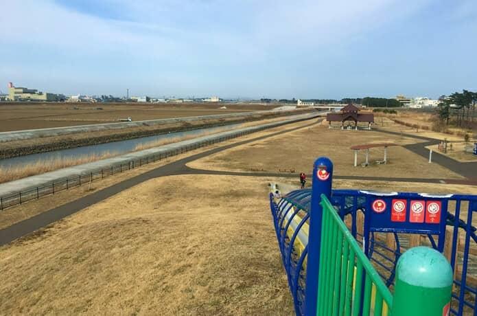 岩沼海浜緑地 ローラー滑り台