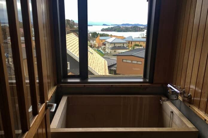 松島プチホテルアバロン 展望風呂