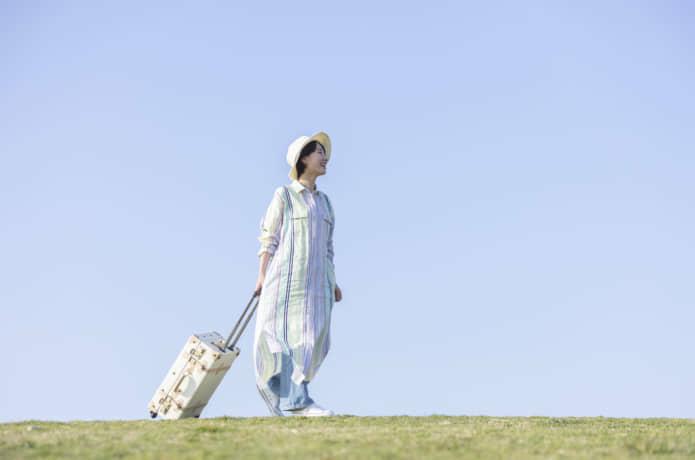 旅する女性