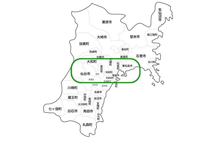 宮城 マップ