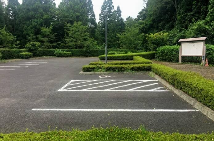 上楯城 駐車場