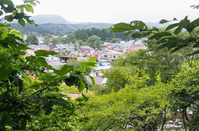 川崎城 蔵王連峰