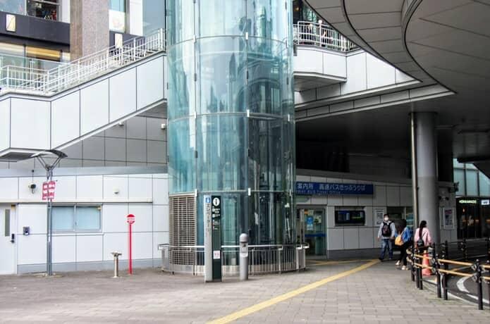仙台駅東口バス案内所