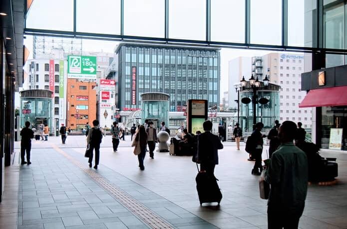 仙台駅 東口通路