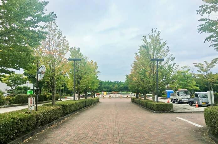 七北田公園 駐車場